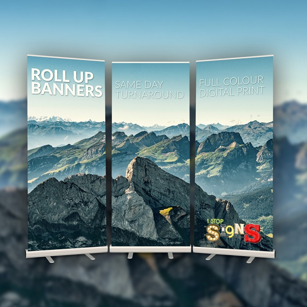 Same Day Roller Banners Printing London