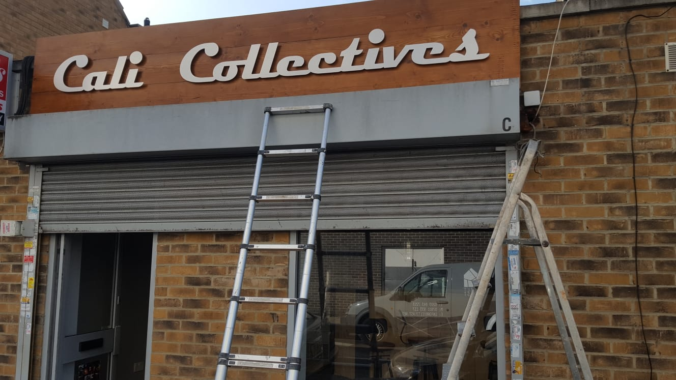 Signage for Shops Ilford
