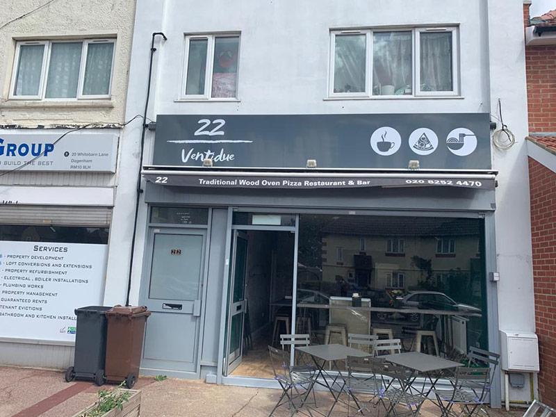 Restaurant Signage London