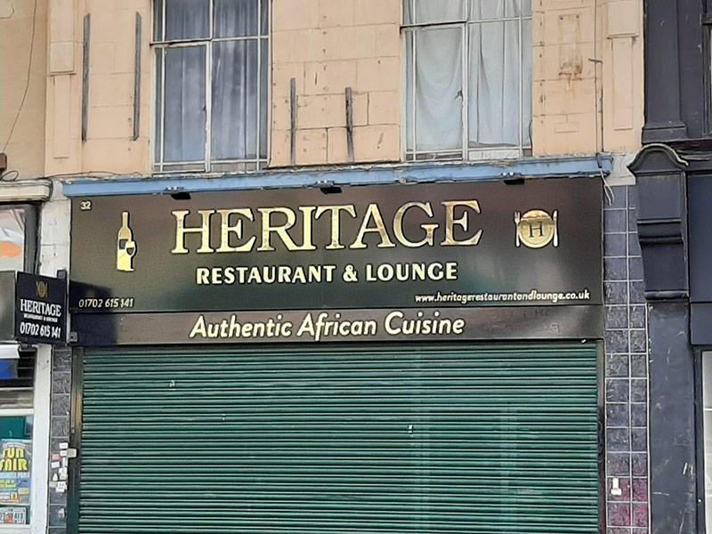 Restaurant and Lounge Signage London